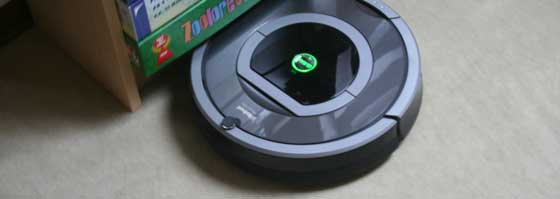 iRobot Roomba 780 Randverfolgung am Regal